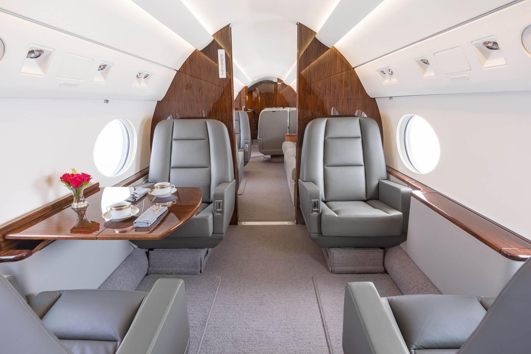 Luxury Interior Gulfstream G-IVSP