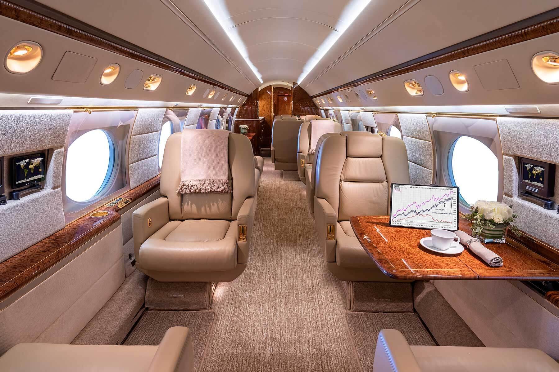 Sun Air N631VR cabin