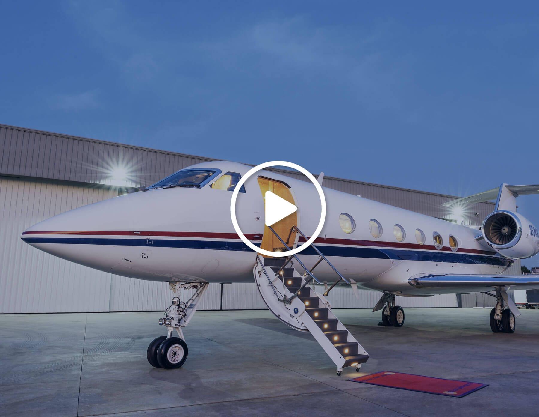 Private Charter Plane Video Cover