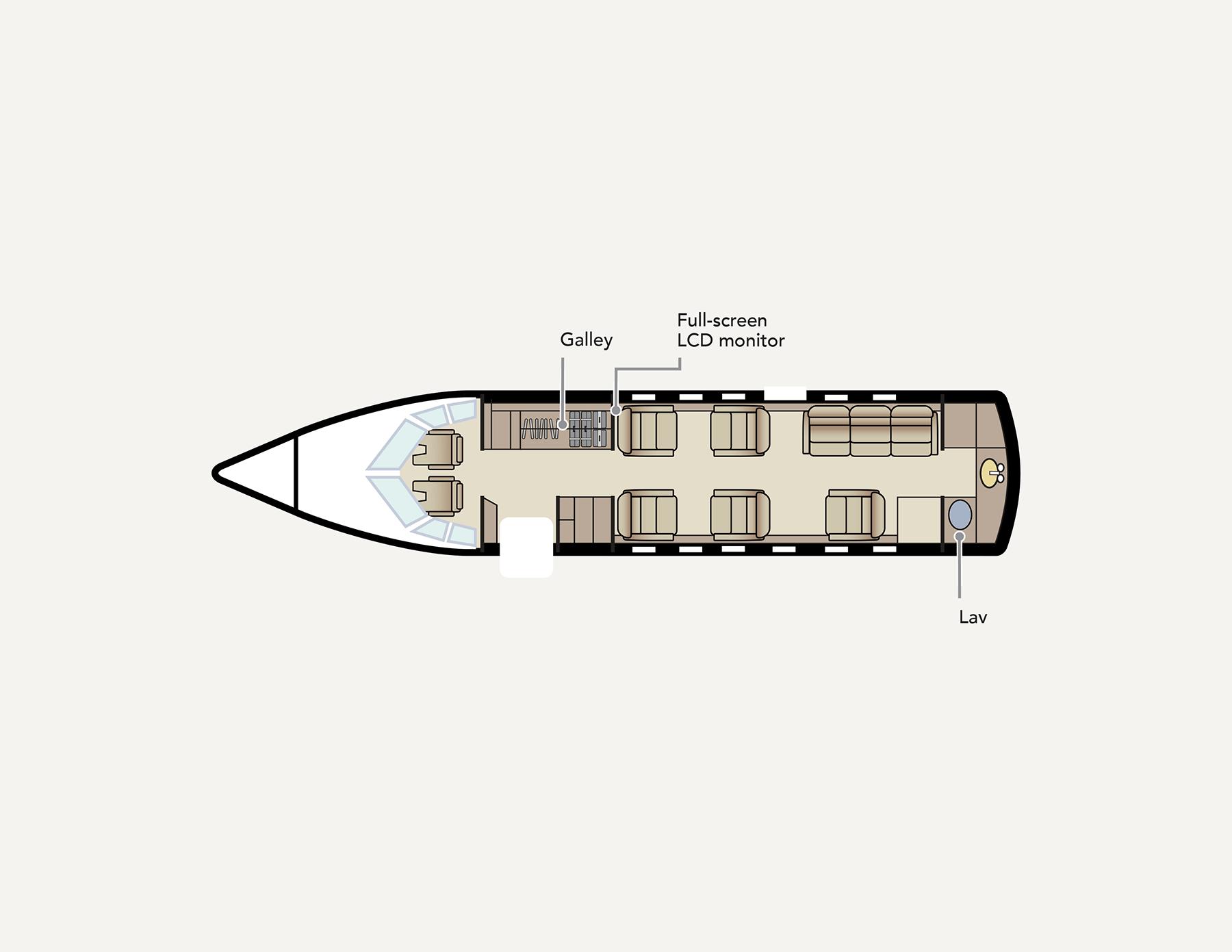N92UP Plane Diagram