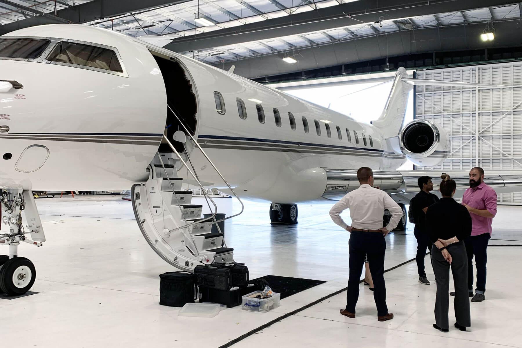 Sun Air AM Jet Inspection