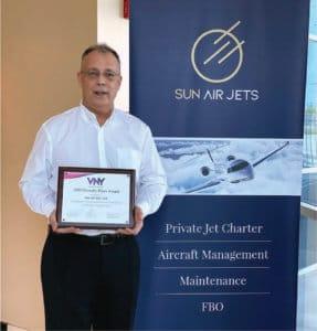 LA charter company earns Friendly Flyer Award