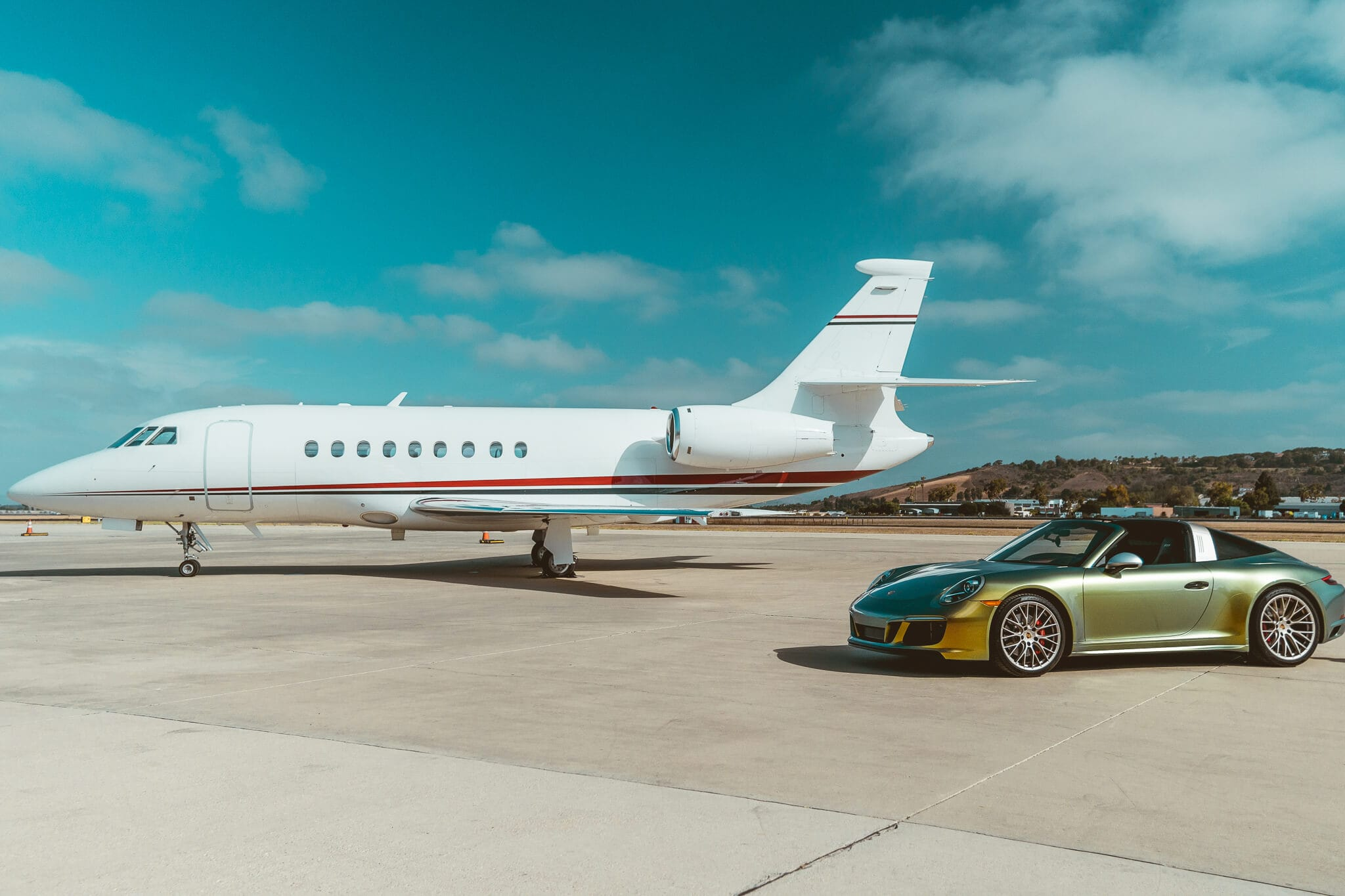 Falcon 2000 with Porsche