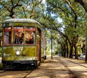 Enjoy a private flight to New Orleans