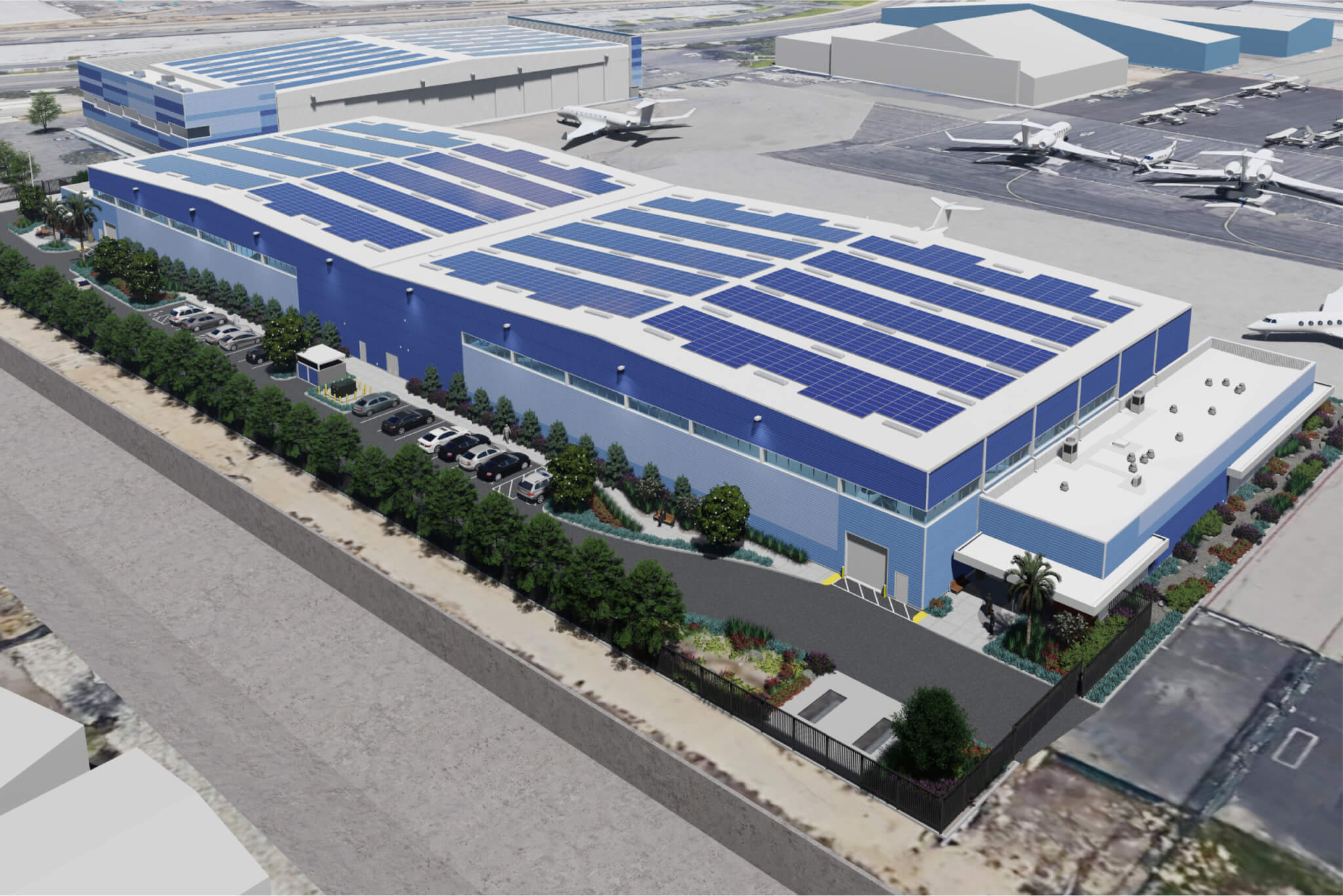production locations | Sun Air Jets at Van Nuys Airport